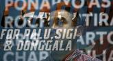 Presiden APPI, Ponaryo Astaman, saat jumpa pers Charity for Palu, Sigi dan Donggala di gedung Kemenpora, Jakarta, Jumat (16/11). APPI, MSG dan Kemenpora akan gelar laga amal untuk Palu, Sigi dan Donggala. (Bola.com/Yoppy Renato)