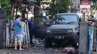 Suasana pasca ledakan gereja di Gereja Katolik Santa Maria, Gubeng, Surabaya, Minggu (13/5) (Liptan6.com/Istimewa)