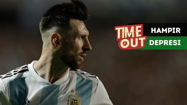 Berita video Time Out kali ini tentang bintang Barcelona asal Argentina, Lionel Messi, yang hampir depresi pada dua tahun lalu.