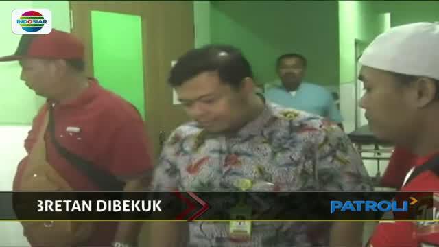 Lantaran melawan saat ditangkap, seorang pelaku penjambretan di Ngawi, Jawa Timur, ditembak kakinya.