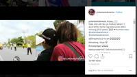 Trik pengendara hadapi operasi zebra (Instagram @polantasindonesia)