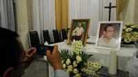 Legenda sepak bola Indonesia, Sinyo Aliandoe wafat (Liputan6.com/Helmi Fithriansyah)