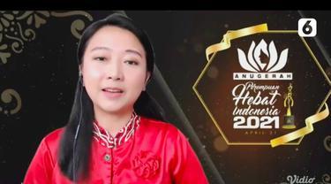 GM Irene Sukandar Di Anugerah Perempuan Hebat Indonesia