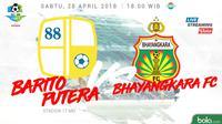 Liga 1 2018 Barito Putera Vs Bhayangkara FC (Bola.com/Adreanus Titus)