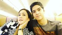 Al Ghazali dan Maia Estianty [foto: instagram]