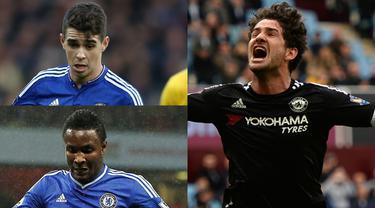 Banyak pemain top ingin bergabung bersama tim kepunyaan Abrahamovic yaitu Chelsea. Namun ternyata tidak semua pemain Chelsea mendapat kesempatan bermain secara reguler dan terpaksa berpindah ke klub lainnya. (Kolase Foto AFP)