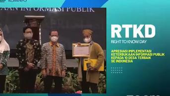 Daftar 10 Desa Terbaik se-Indonesia Dalam Penerapan Keterbukaan Informasi Publik