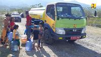 Kementerian PUPR Siapkan 22 Hidran Umum Untuk Kebutuhan Air Bersih di Sulawesi Tengah. Dok: Kementerian PUPR