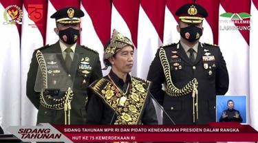 Pengukuhan 8 Anggota Paskibraka 2020 di Istana Negara
