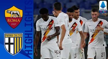 Berita Video Highlights Serie A, Gol dari Jordan Veretout Beri Kemenangan AS Roma Saat Melawan Parma di Olympico