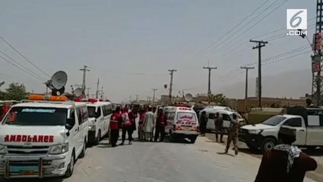 Sebanyak 25 orang dipastikan tewas dalam serangan bom bunuh diri di Pakistan. Peristiwa ini terjadi saat jajak pendapat jelang pemilu.