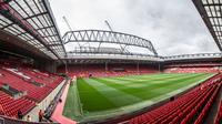 Ilustrasi Markas Liverpool, Stadion Anfield. (Liverpool Echo)