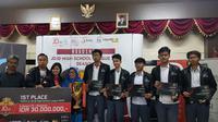 Juara HSL 2018, tim SMA Negeri 7 Bandung. (FOTO / HSL)