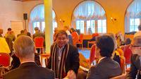 Di tengah perhelatan World Economic Forum (WEF) di Davos, Swiss, Menteri Komunikasi dan Informatika Rudiantara berbagi tentang ledakan generasi muda di Indonesia. Dok Keminfo