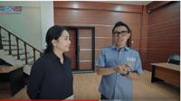 Nagita Slavina di kantor Eko Patrio. foto: Youtube 'Rans Entertainment'