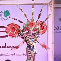 39 Finalis Puteri Indonesia unjuk kebolehan di 'Malam Bakat Seni dan Budaya'. (Bintang.com/Nurwahyunan)