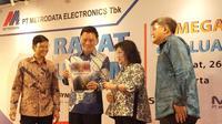 Rapat Umum Pemegang Saham (RUPS) Tahunan PT Metrodata Electronics Tbk untuk tahun buku 2019. (Dok Metrodata)