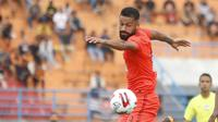 Striker Borneo FC, Francisco Torres. (Bola.com/Gatot Susetyo)