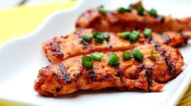 Resep Menu Diet Dada Ayam Panggang Saus Kecap Lifestyle Fimela Com