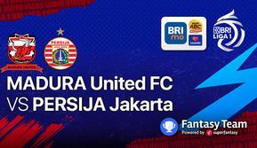 BRI Liga 1 2021/2022 : Persija Jakarta vs Madura United