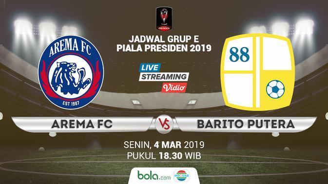 Klasemen Piala Presiden 2019 Com Hd: Live Streaming Piala Presiden 2019 Di Indosiar: Arema FC