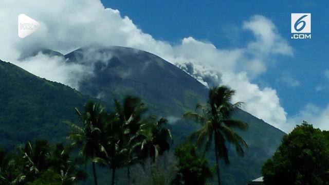 Telah terjadi erupsi G. Gamalama, Maluku Utara pada hari Kamis, 04 Oktober 2018, pukul 11:52 WIT