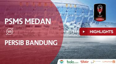 Berita video terpopuler 2018, PSMS Medan mengalahkan Persib Bandung 2-0 dalam lanjutan Piala Presiden 2018.