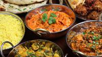Ilustrasi makanan India (iStock)