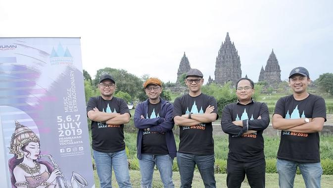 Preskon Prambanan Jazz Festival 2019 (Bambang E Ros/Fimela.com)