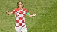 8. Luka Modric - Gelandang Real Madrid (Kroasia). (AFP/Gabriel Bouys)