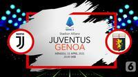 Juventus vs Genoa (liputan6.com/Abdillah)
