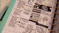 Ilustrasi resolusi tahun baru dalam sebuah jurnal. (dok. Instagram @unplanner/https://www.instagram.com/p/BsJz6moBSUL/Esther Novita Inochi)