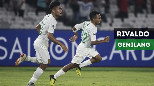 Berita video aksi-aksi gemilang Todd Rivaldo saat Timnas Indonesia U-19 melawan Qatar U-19 pada laga kedua Grup A Piala AFC U-19 di SUGBK, Senayan, Jakarta, Minggu (21/10/2018).