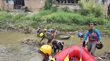 Aksi Bersih Sungai Deli