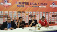 Pelatih Persija Jakarta, Julio Banuelos, menegaskan timnya siap bangkit pada laga melawan Kalteng Putra demi The Jakmania. (Bola.com/Zulfirdaus Harahap)