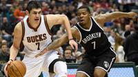 Milwaukee Bucks vs Brookly Nets (Reuters / Benny Sieu)