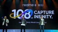 Peluncuran Realme 8 Pro dan Realme 8 di Indonesia. (Foto: YouTube/Realme Indonesia)