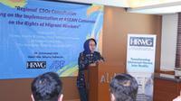 Pemerintah melalui Kementerian Ketenagakerjaan mendorong seluruh negara-negara di ASEAN untuk serius mengawal dan memiliki komitmen sama terhadap perlindungan pekerja migran.