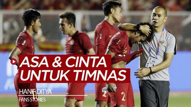 Berita video Fans Stories kali ini menampilkan Hanif Ditya, suporter setia Timnas Indonesia yang menyaksikan tim Garuda sejak SEA Games 1987 sampai dengan yang terakhir, 2019. Ada asa dan cinta dari Hanif Ditya untuk Timnas Indonesia.