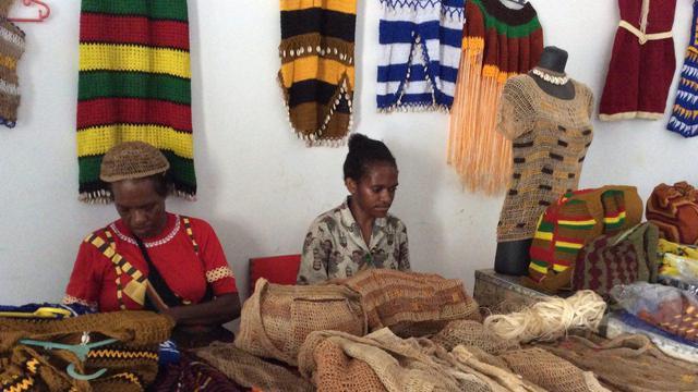 Jurus Jitu Mama Mama Papua Menjual Noken Regional Liputan6 Com