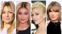 Terlihat perubahan cukup besar pada payudara enam artis Hollywood ini.