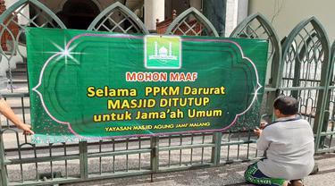 Masjid Jami dan Sabilillah Malang Tak Gelar Salat Idul Adha untuk Umum