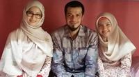 Jihan Fahira, Primus Yustisio, dan anak mereka, Lana Devina Yustisio. (Instagram/truejf)