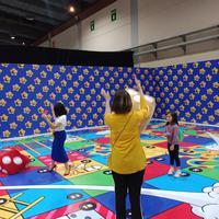 Daripada main gadget, ajak anak untuk isi liburan dengan datang ke Wonderfest (Foto: Vinsensia Dianawanti)
