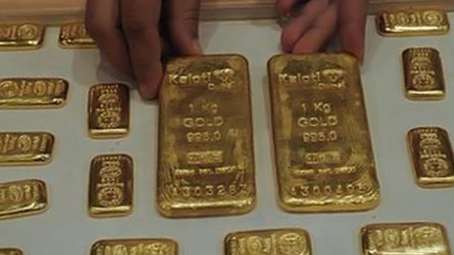 Emas Batangan 24 Karat Seberat 1 Kg Ditemukan Di Toilet Pesawat