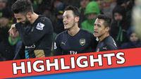 Video highlights Liga Inggris antara Norwich City melawan Arsenal yang berakhir dengan skor 1-1, Minggu (29/11/2015)