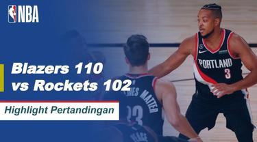 Berita Video Highlights NBA, Portland Trail Blazers Berhasil Kalahkan Houston Rockets 110-102