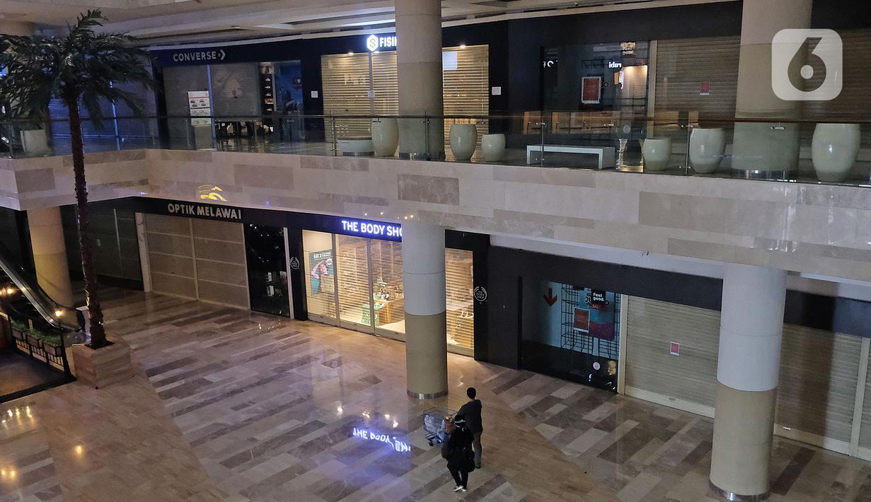 090230100 1586515661 20200410 PSBB Di Jakarta  Sejumlah Mall Tutup Sementara 6