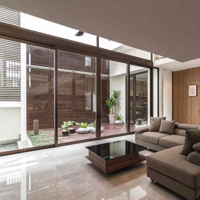 Sentuhan Material Kayu Dalam Desain Rumah Modern Minimalis Nan Elegan Lifestyle Liputan6 Com