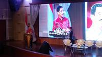 Sejumlah tokoh menghadiri peluncuran buku Kepala BNPT Suhardi Alius.